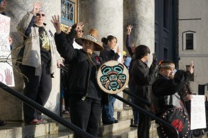 Protesters, lawmaker bring Fairbanks Four case to the Capitol