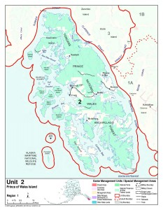 (Alaska Department of Fish and Game map)