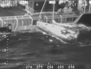 French sailor makes desperate Pacific Ocean leap onto Shell vessel