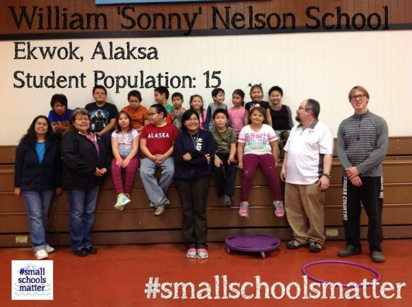 A campaign started by a Twin Hills teacher is asking for photos and reactions from students at small schools throughout the state. CREDIT SMALL SCHOOLS MATTER FACEBOOK PAGE