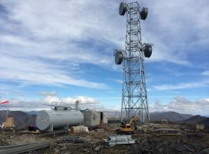A TERRA network radio tower. (Photo via GCI)