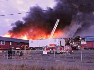 Yup'ik artifacts spared in Bethel school fire