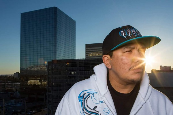Samuel Johns (AK REBEL) is a community activist, motivational speaker and hip hop artist. Photo courtesy Samuel John.