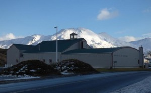 The Museum of the Aleutians remains temporarily closed. (Photo by Greta Mart/KUCB)