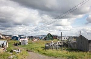 Unalakleet in the fall of 2014. (Photo: Caitlin Whyte, KNOM file)