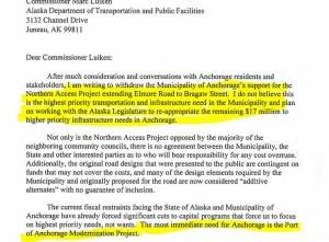 Berkowitz kills controversial road project