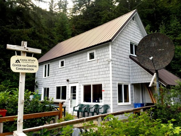 The Alaska Whale Foundation's facility in Warm Springs Bay can support up to 6 scientists and volunteers, with internet access and a fleet of small craft. Photo shared via KCAW.org.