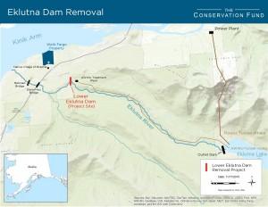 'Deadbeat' Eklutna dam due for demolition, group says