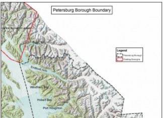 The Petersburg Borough with its final boundaries. (File photo)