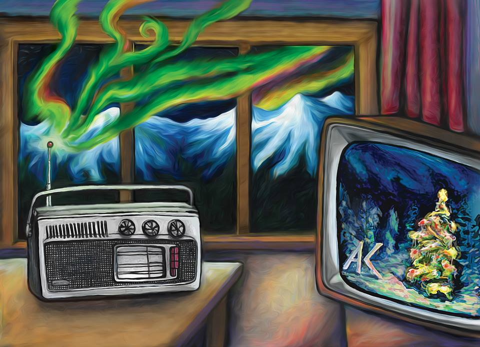 Art by Sarah Glaser/Alaska Public Media.