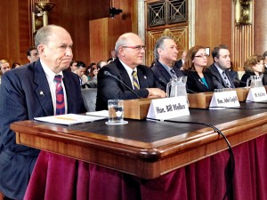 Gov. Bill Walker and other witnesses testify in U.S. Senate.