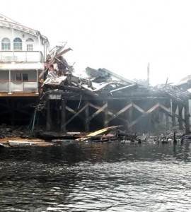 Landmark restaurant in Craig burns down