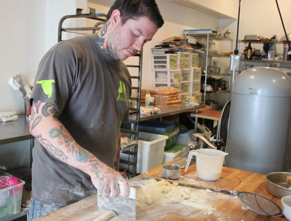 Beau Schooler Makes Ricotta Gnocchi In The Kitchen Of Panhandle Provisions Photo By Lisa