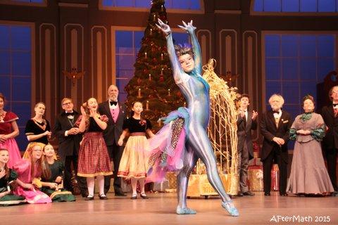 "Makayla Murphy dances as the peacock during ""The Nutcracker"" party scene. (Photo courtesy of Bobbi Jordan)"