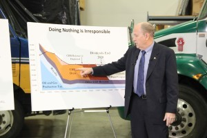 Gov's plan aims to reshape state's relationship with oil