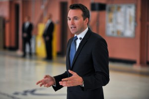 Eric Fanning in 2013, when he was Acting Air Force Secretary. Photo Christopher Muncy/N.Y. Air National Guard