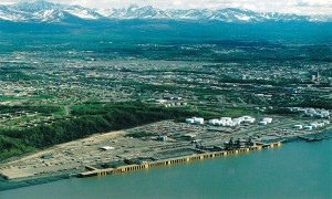 Anchorage Port, 1999. Photo: U.S. Army Corps of Engineers.