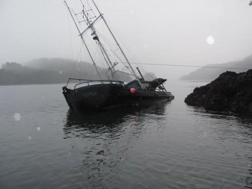 The F/V Yankee in Neva Strait. (Photo by Richard Guhl)