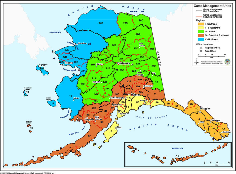 Sullivan tries to stop proposed ban on predator control in alaska the alaska department of fish and game divides the state into game management units some sciox Gallery