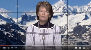Sen. Murkowski delivered the GOP weekly address on Saturday. Photo: YouTube.