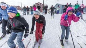 Arctic Skiing
