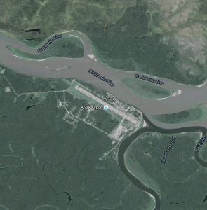 Aniak. (Google Maps screenshot)