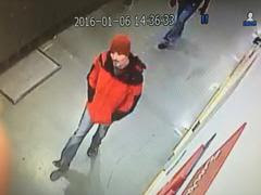 Police are seeking the public's help in identifying a suspect who allegedly slashed a Costco employee with a box cutter.