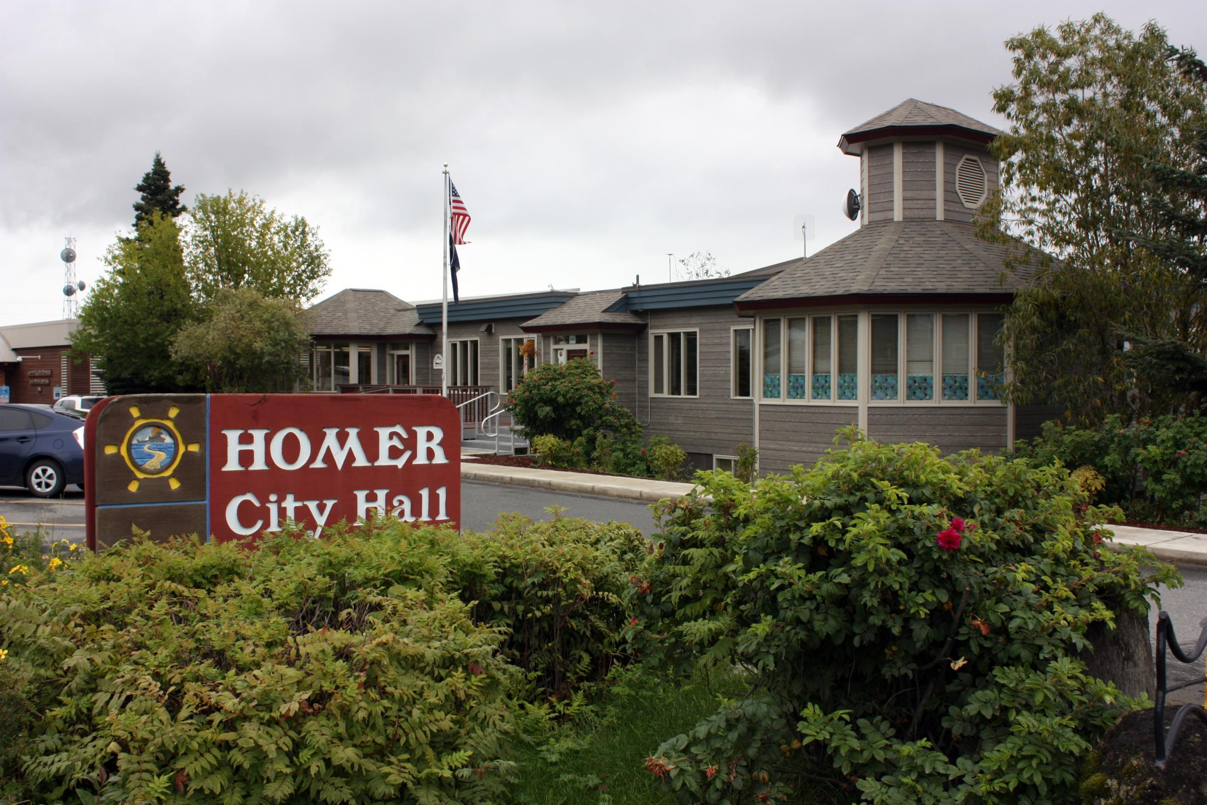 Homer City Hall (Photo courtesy City of Homer)
