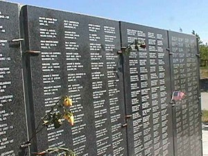 The Veterans' Wall of Honor in Wasilla. Photo: Veterans' Wall of Honor website.
