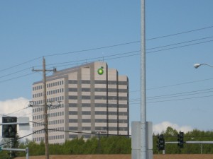 BP's Anchorage headquarters. Image: Wikimedia Commons