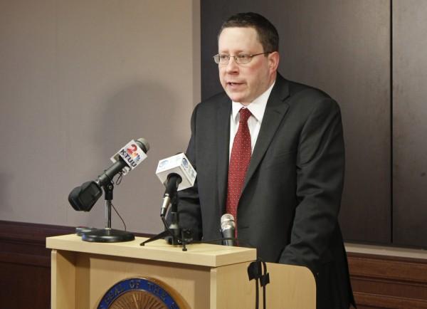Alaska Attorney General Craig Richards. (Photo by Josh Edge/APRN)
