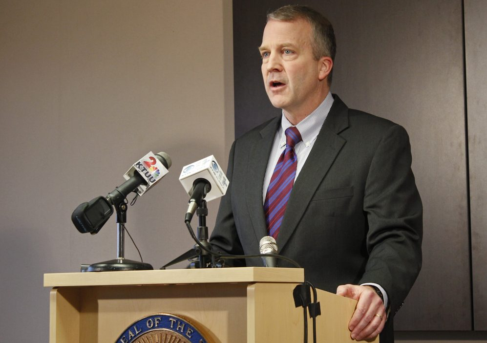 U.S. Sen. Dan Sullivan. (Photo by Josh Edge/APRN)