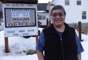 Jones Hotch Jr. is the tribal council president of the Chilkat Indian Village in Klukwan. (Photo by Emily Files, KHNS - Haines)