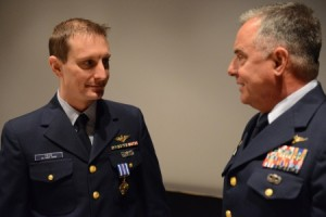 Air Station Kodiak Helicopter Pilot Earns Distinguished Flying Cross