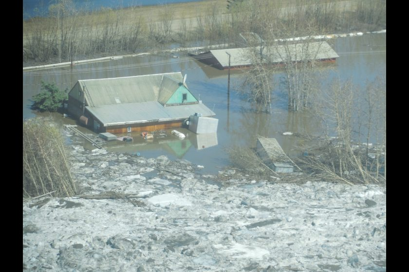 Photo of the Galena Flood (Photo courtesy of the National Weather Service)
