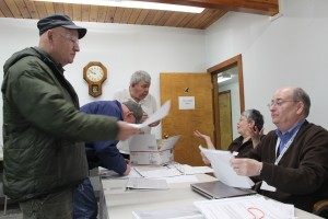 Statewide turnout in the 2016 vote exceeded the previous record by 57 percent. Photo: Rachel Waldholz/APRN