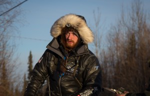 25-year-old Wade Marrs pulls in to Galena in the 2016 Iditarod. (Photo by Zach Hughes/KSKA)