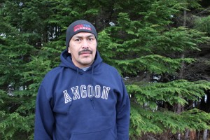 Angoon's Mayor Albert Howard is trying to protect his village's way of life. (Photo by Elizabeth Jenkins/KTOO)