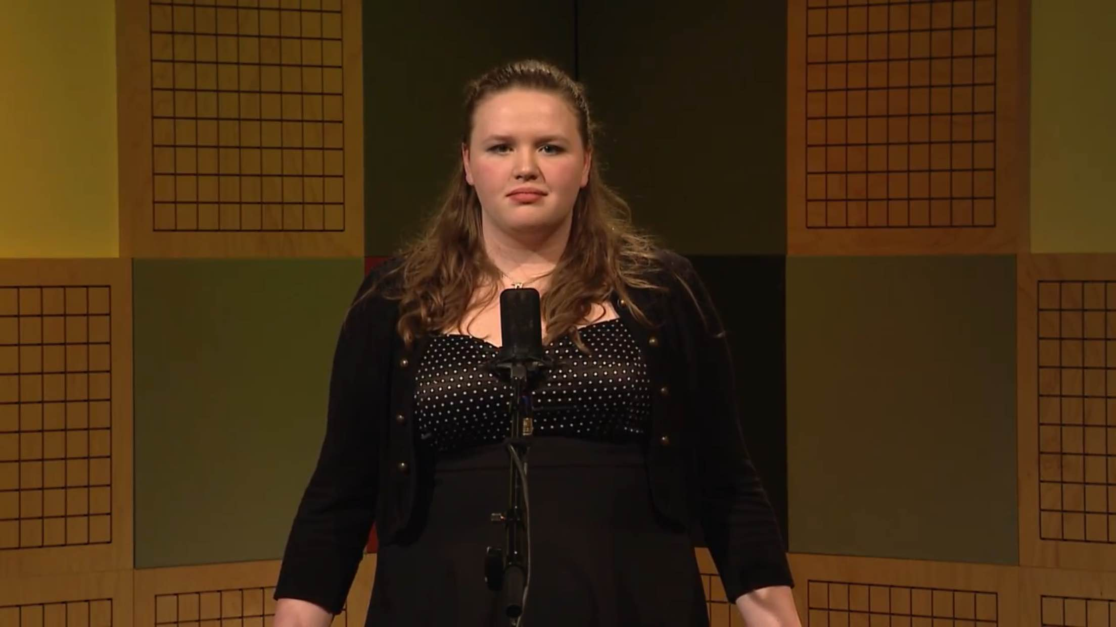 "West High School student Shannon Croft recites the poem ""When I Have Fears That I May Cease to Be."" at the 2016 State Poetry Out Loud Competition (Photo: YouTube screenshot)"