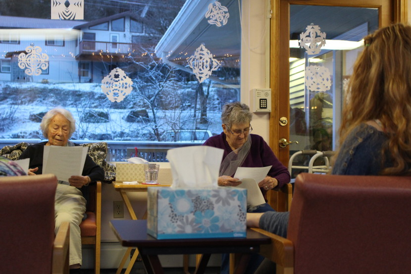The Bridge in Juneau is one of two formalized adult day programs in Southeast. The program costs $180 a day and accepts Medicaid waivers. (Photo by Elizabeth Jenkins, KTOO - Juneau)