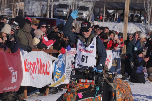 Four-time Iditarod champion Jeff King. (Alaska Public Media photo)