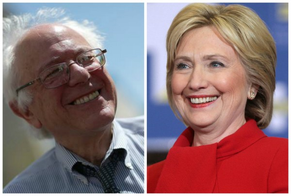 Photo credits: Bernie Sanders courtesy of Alaska For Bernie Sanders Facebook Page. Hillary Clinton by Gage Skidmore courtesy of Wikimedia Commons.