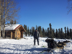 Brent Sass is racing at the front of the 2016 Iditarod. (Photo by Emily Schwing/KNOM.)