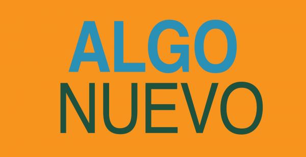 Algo Nuevo September 8th, 2019