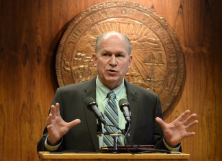 Governor Bill Walker pictured in April 2016. (Photo by Skip Gray, 360 North)