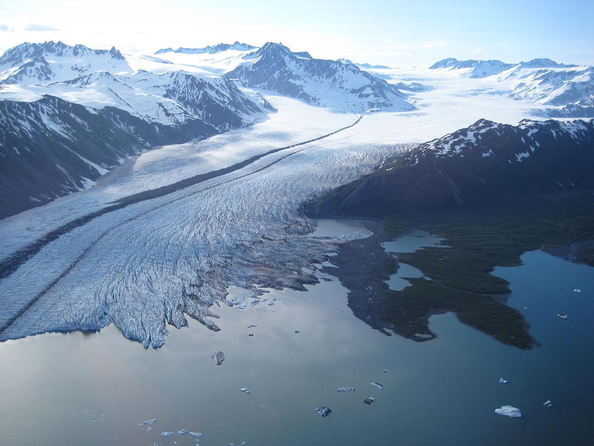 Bear Glacier, Kenai Fjords National Park. (Photo courtesy of Wikipedia)