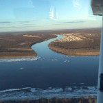 River clear in Kwethluk River. (Photo courtesy of Earl Samuelson)