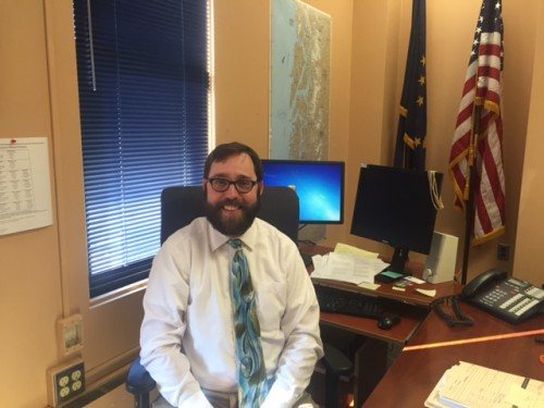 Christopher Orman is the new assistant district attorney for Sitka, Petersburg and Kake. (Photo by Brielle Schaeffer, KCAW - Sitka)