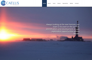 """Caelus Energy Alaska announced Friday, April 8 that it would cut its workforce by 25 percent in response to low oil prices and """"uncertainty in Alaska's oil tax system."""" Website screenshot April 9, 2016."""