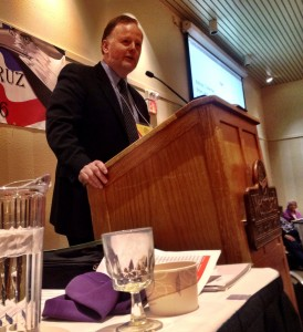 Tuckerman Babcock, of Soldotna, is the new chairman of the Alaska Republican Party.